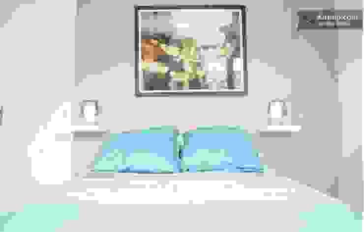 Chambre à coucher Salon original par Sandra Dages Éclectique
