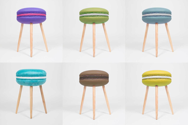 Makastool di LI-VING design ideas Eclettico