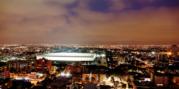 Arena Curitiba 根據 Estudio Carlos Arcos