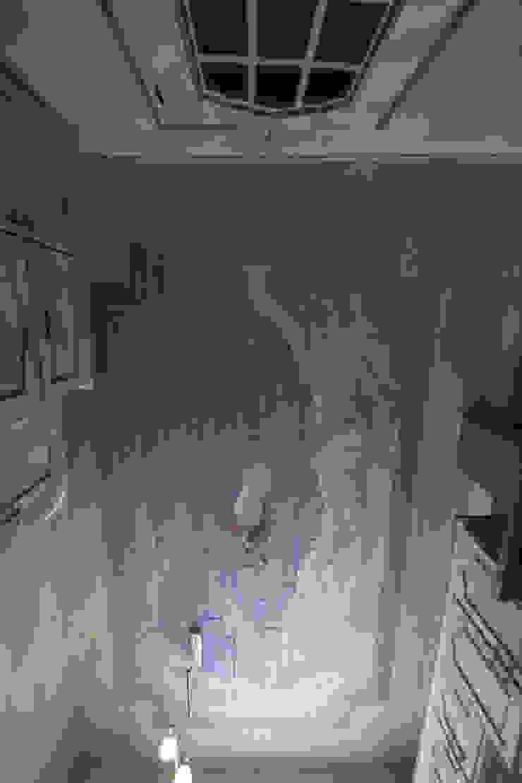 Plafond peint en trompe-l'oeil par THIERRY HERR