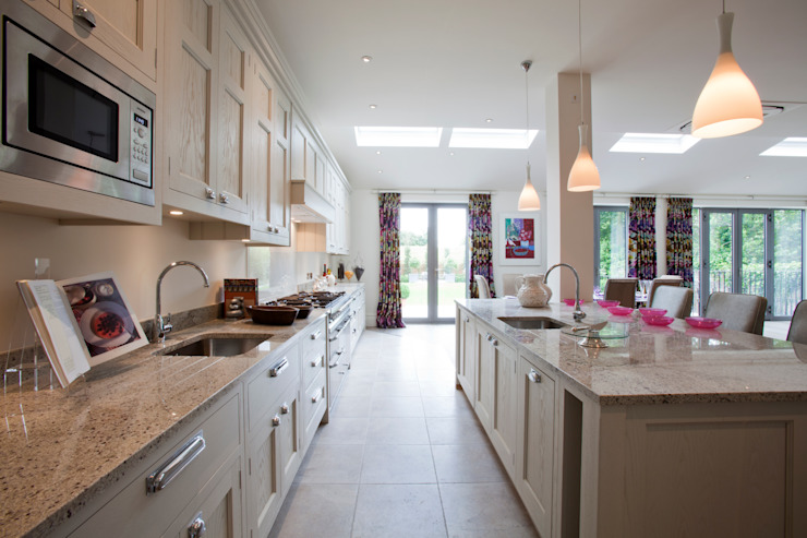 """Bespoke Kitchen """" The Staffordshire """" Classic style kitchen by G & R Furniture Limited Classic"""