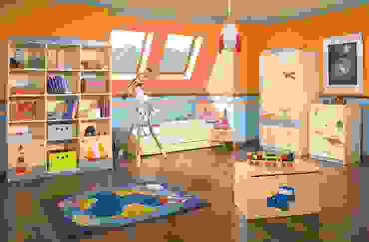 Kinderzimmer Weltenbummler Moderne Kinderzimmer von Möbelgeschäft MEBLIK Modern