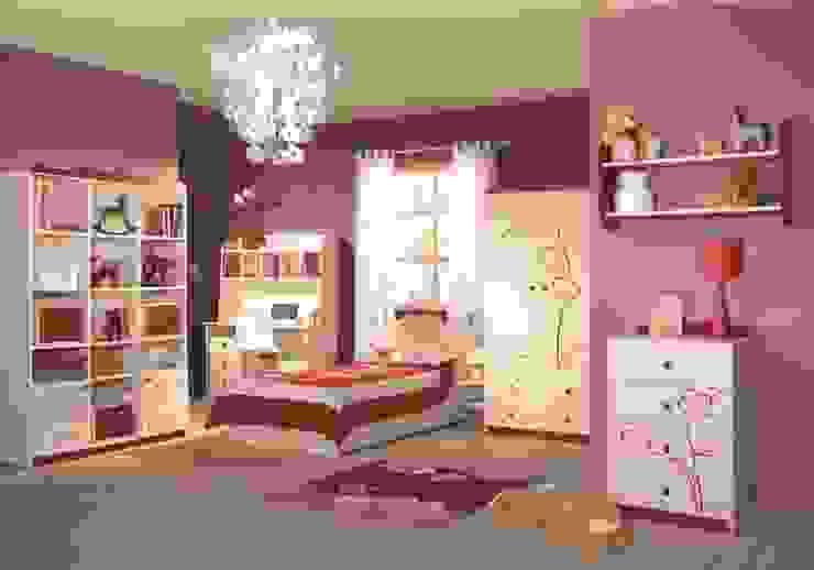 Kinderzimmer Orchidee Weinrot Klassische Kinderzimmer von Möbelgeschäft MEBLIK Klassisch