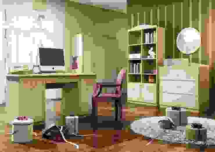 Kinderzimmer Cappucino Klassische Kinderzimmer von Möbelgeschäft MEBLIK Klassisch