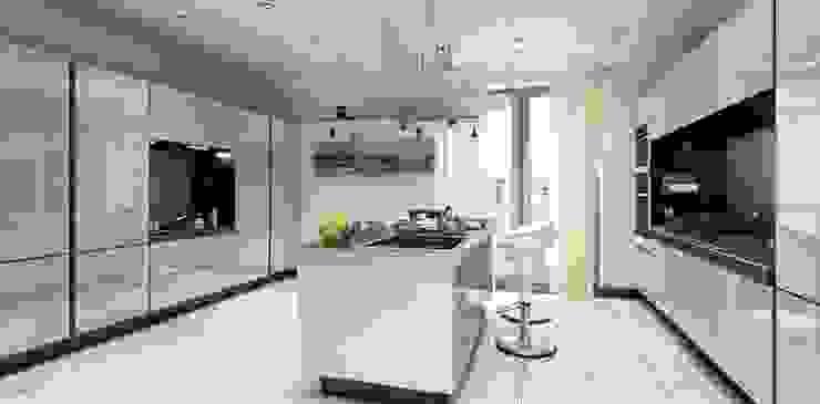 現代廚房設計點子、靈感&圖片 根據 MONO MİMARLIK İNŞAAT 現代風