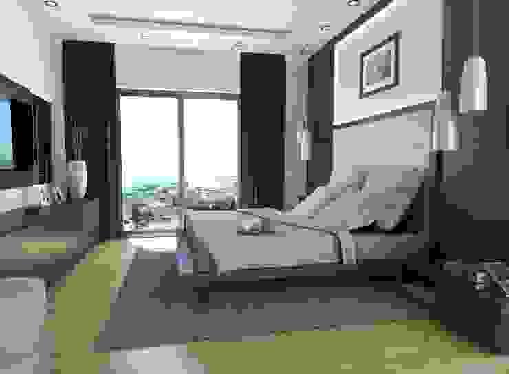 Dormitorios modernos: Ideas, imágenes y decoración de MONO MİMARLIK İNŞAAT Moderno