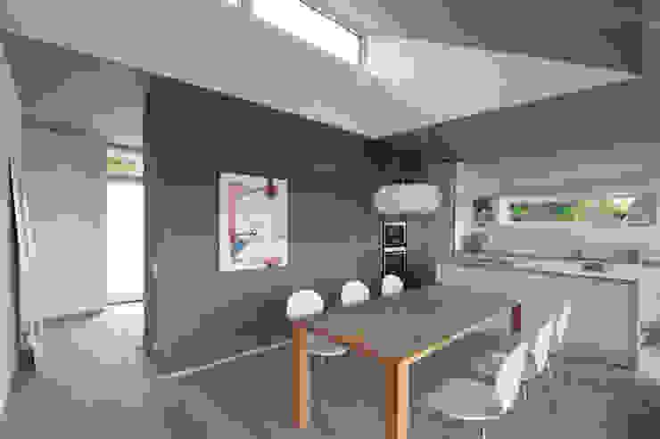 Haus G. Moderne Esszimmer von junger_beer architektur zt-gmbh Modern