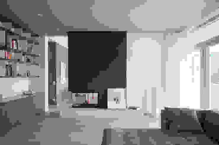 Haus G. Moderne Wohnzimmer von junger_beer architektur zt-gmbh Modern