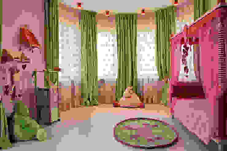 Спальня младшей дочери от homify Эклектичный