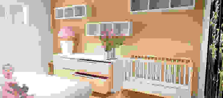 Moderne Schlafzimmer von Caterina Paltrinieri Architetto Modern