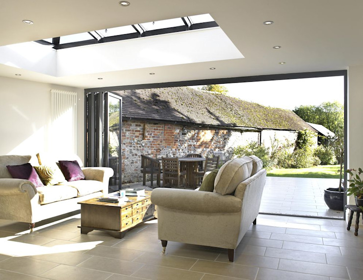 Orangery extension Modern conservatory by Viva Doors Ltd Modern