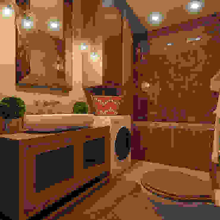Bathroom by Частный дизайнер и декоратор Девятайкина Софья,