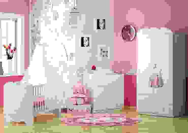Babyzimmer Bianco Fiori Klassische Kinderzimmer von Möbelgeschäft MEBLIK Klassisch