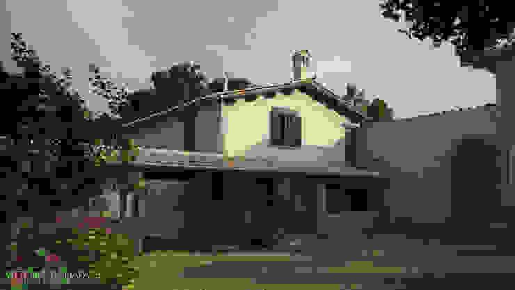 Villa Vittoni - Esterno Vittorio Bonapace 3D Artist and Interior Designer Case in stile rustico
