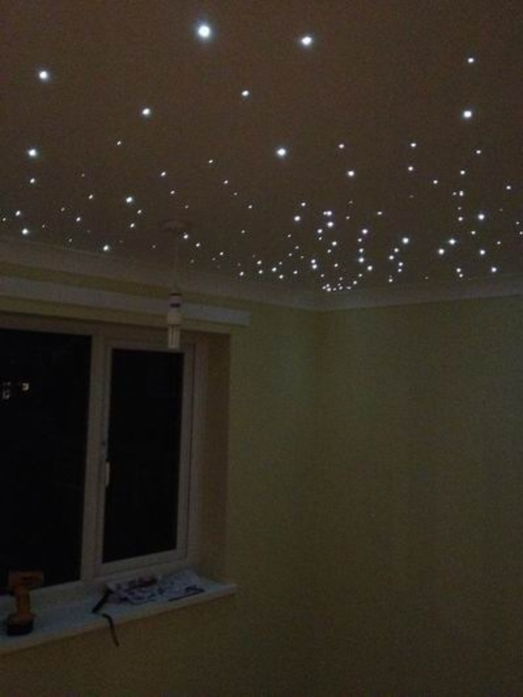 Starlight nursery ceilings Modern nursery/kids room by Lancashire design ceilings Modern
