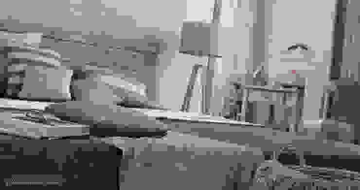 Villa Vittoni - Camera da Letto Camera da letto in stile rustico di Vittorio Bonapace 3D Artist and Interior Designer Rustico