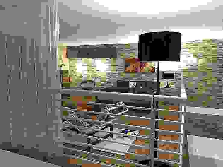 Loft Apartment modernisation and interior design Modern houses by ULA Interiors Modern