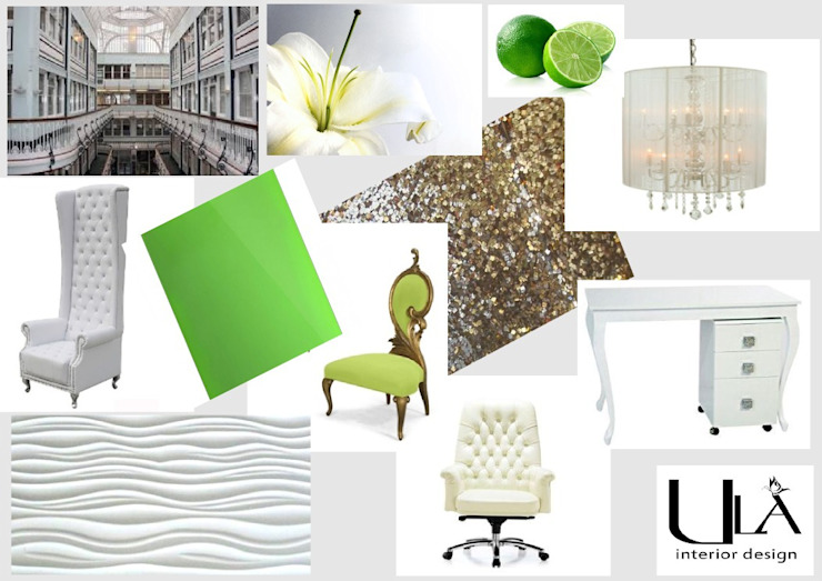 Nail Bar Modern commercial spaces by ULA Interiors Modern