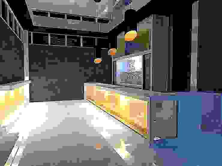 City Centre Bar/Lounge Club Design Modern wine cellar by ULA Interiors Modern
