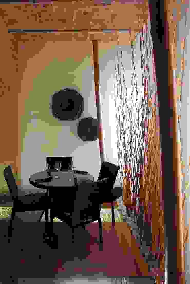 ENOTECA NON SOLO VINO Gastronomia in stile eclettico di Rocco Valentini Architecture Eclettico