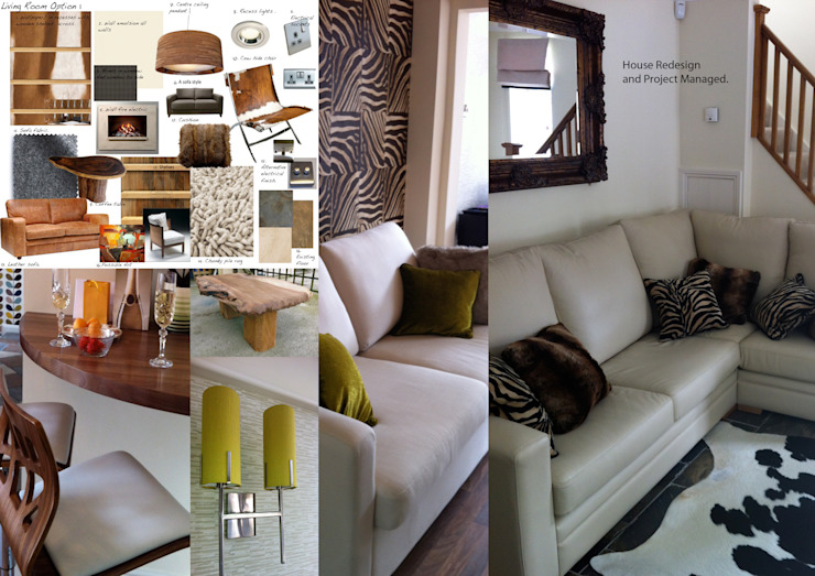 Overview of Project by Tracey Andrews Interiors