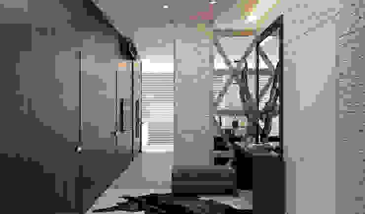 Летняя квартира у Черного моря Коридор, прихожая и лестница в стиле минимализм от Котова Ольга Минимализм