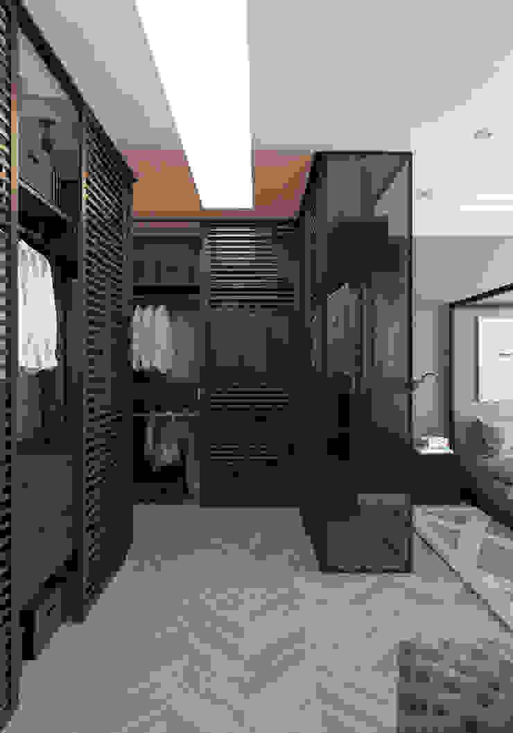 Летняя квартира у Черного моря Гардеробная в стиле минимализм от Котова Ольга Минимализм