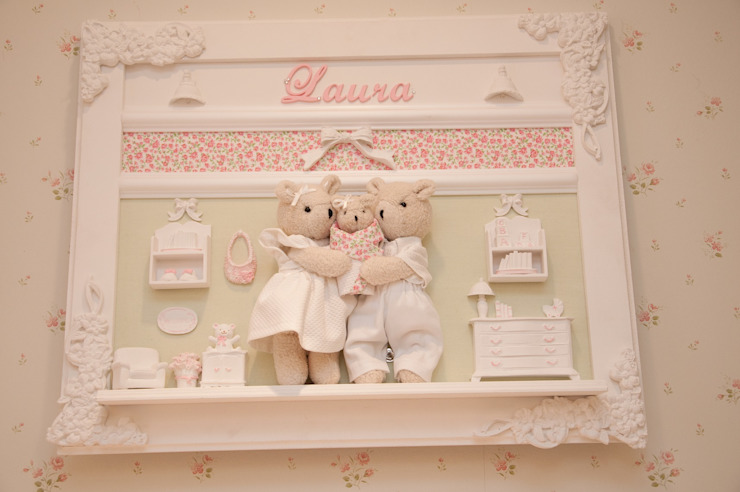Dormitorios infantiles de estilo ecléctico de VITRAL arquitetura . interiores . iluminação Ecléctico