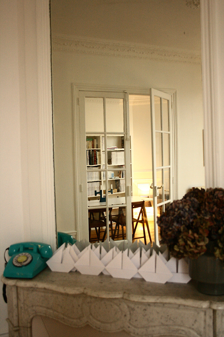 Quand le vintage se mêle à l'haussmanien par Camille&Tifany Minimaliste