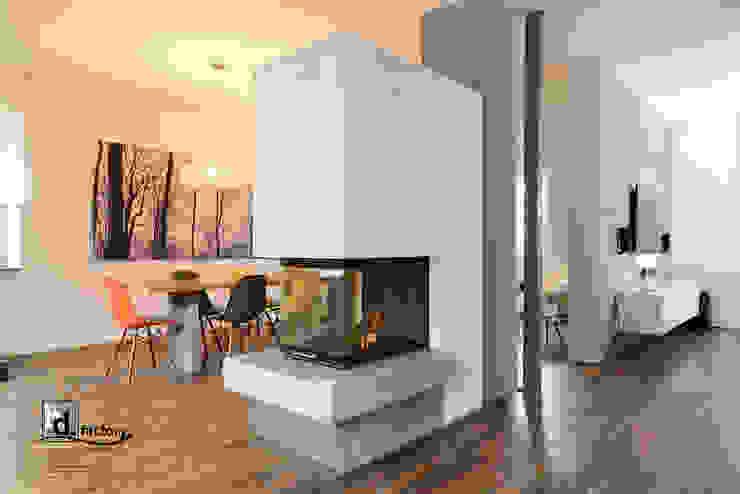 Kamin Feuerbank: modern  von betondesign-factory,Modern