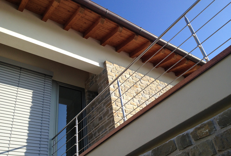 Villa unifamiliare a Bastia Umbra (PG) Case moderne di Fabricamus - Architettura e Ingegneria Moderno