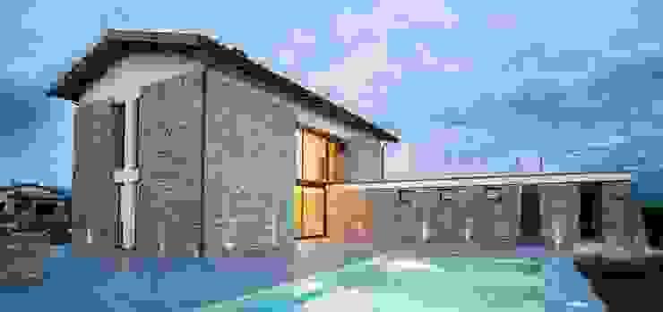 Casas modernas de Fabricamus - Architettura e Ingegneria Moderno