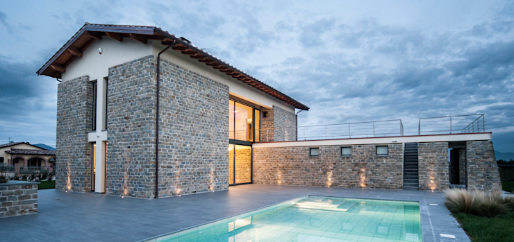 Casas modernas: Ideas, diseños y decoración de Fabricamus - Architettura e Ingegneria Moderno