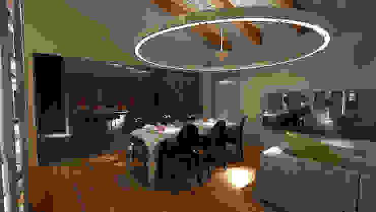 OPEN SPACE Sala da pranzo moderna di Studio di Segni Moderno