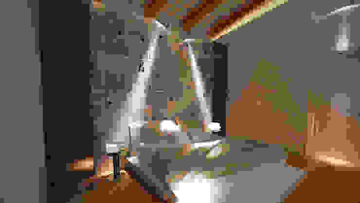 LA CAMERA DA LETTO Camera da letto moderna di Studio di Segni Moderno
