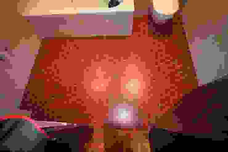 Salle de bain avant la réalisation de la décoration Salle de bain par THIERRY HERR