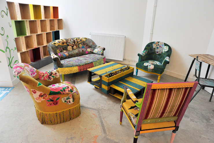 ATELIER D'éco SOLIDAIRE Living roomSofas & armchairs