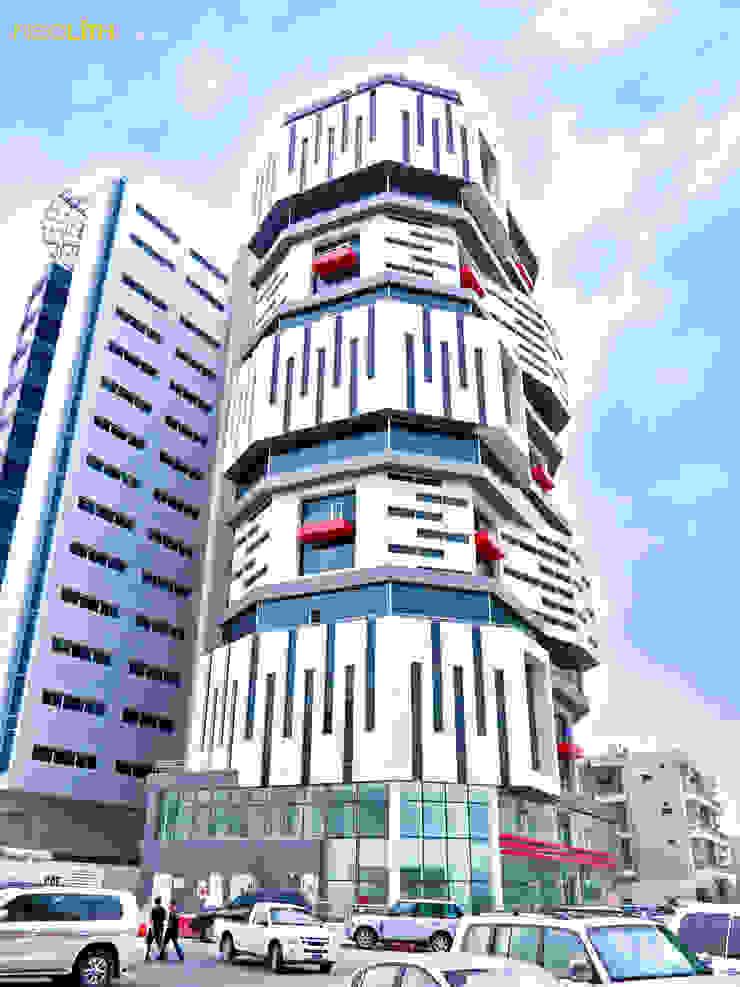 NEOLITH: Carácter Geométrico, Edificio Salata de NEOLITH by TheSize