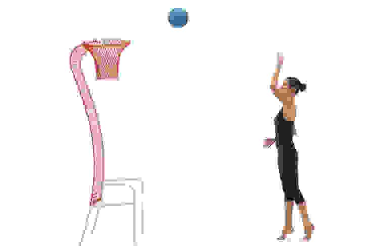 lazy basketball di EMANUELE MAGINI designer Eclettico