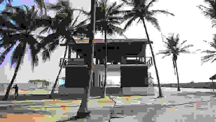 KAMP IKAARE RESORT : tropical  by cmdesign atelier, Tropical