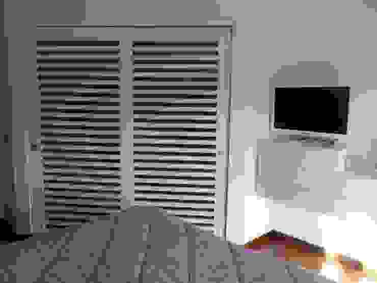 appartamento contemporaneo Camera da letto moderna di casa look Moderno