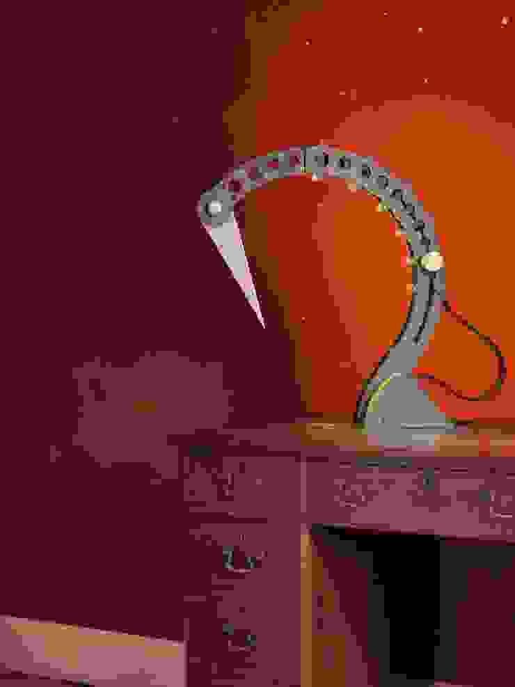 Lamp in the Office: industrial  by BLOTT WORKS, Industrial