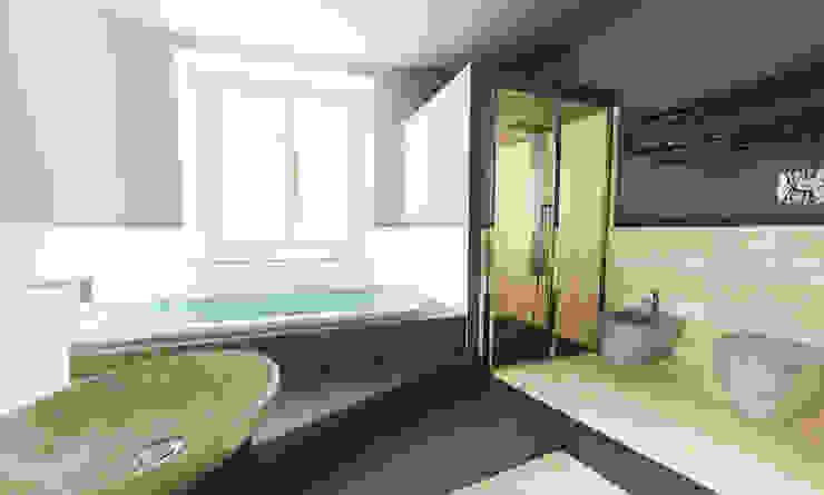 UNA SPA IN CASA... Bagno moderno di Inarte Progetti di Lucio Mana Moderno