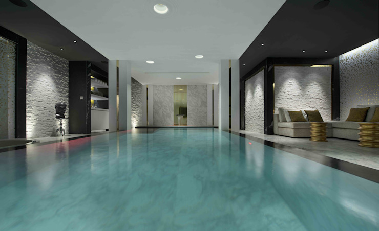 Swimming Pool & Spa Modern pool by Wilkinson Beven Design Modern