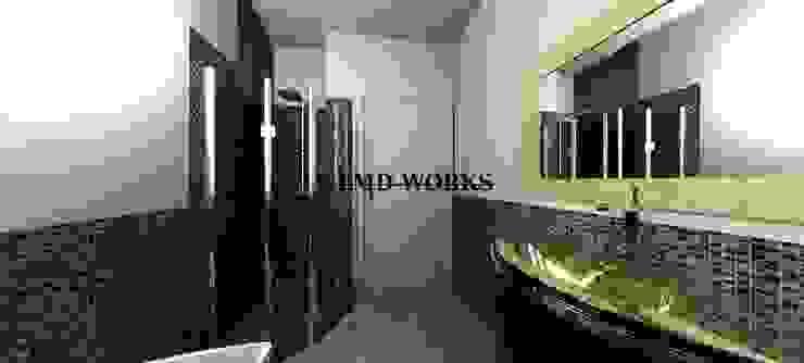 Un bagno per qualsiasi stile Bagno eclettico di Inarte Progetti di Lucio Mana Eclettico