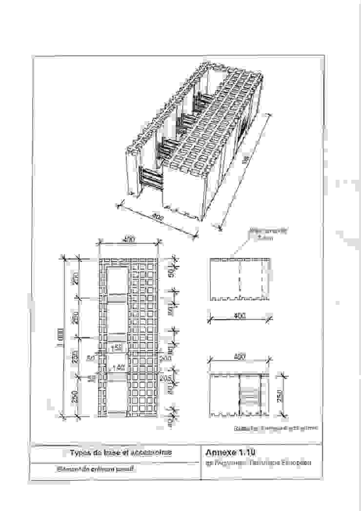Maison témoin par NAO Systeme Moderne