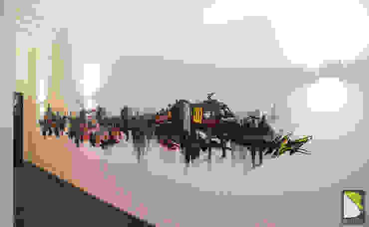 Frise Graffik Graffiti Loft Genève (Suisse) B par BAROGRAFF