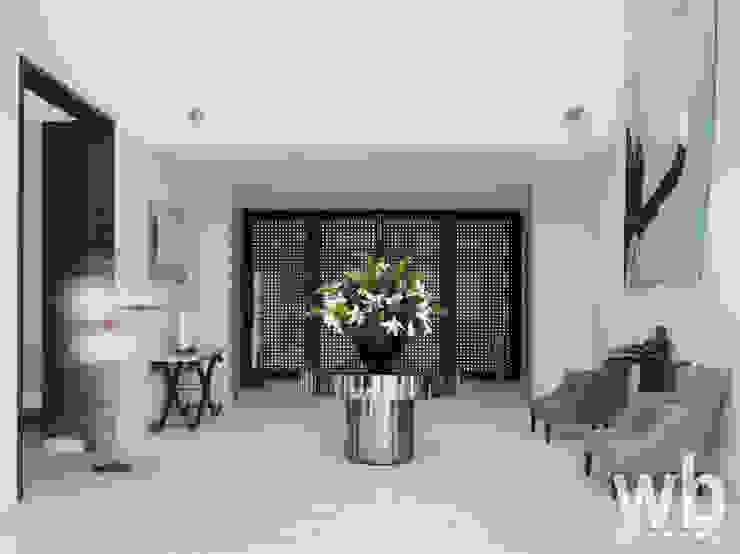 Modern Caribbean Villa Salones de estilo moderno de Wilkinson Beven Design Moderno