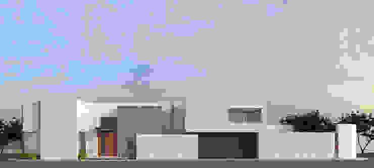 Fachada norte Casas minimalistas de BAG arquitectura Minimalista