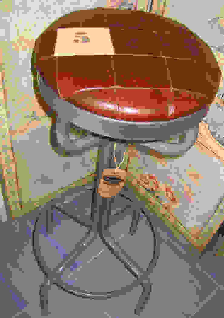 MODELO-BAR:  de estilo industrial de muebles radio vintage, Industrial